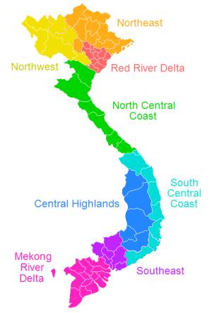 Vietnamese Regions