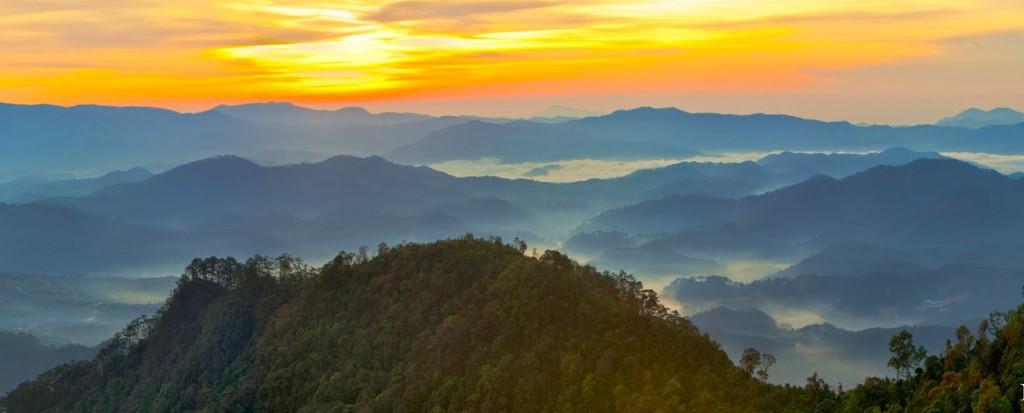 Langbiang Mountain