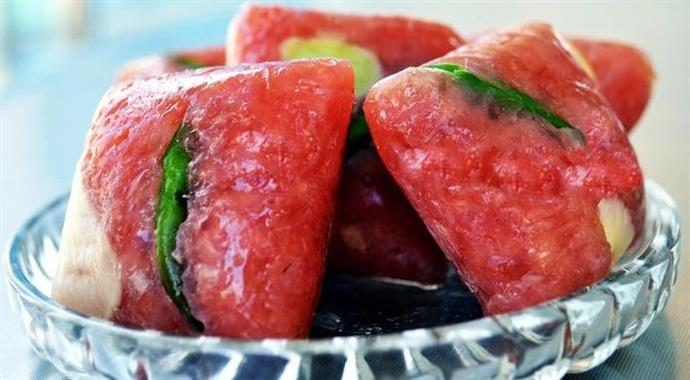 Lai Vung fermented pork roll